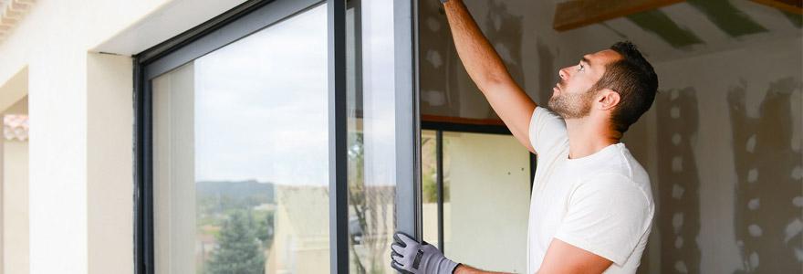 baie vitrée installer