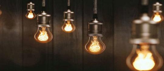 l'éclairage vintage