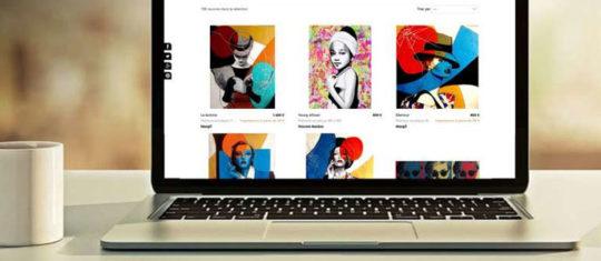 des œuvres d art en ligne