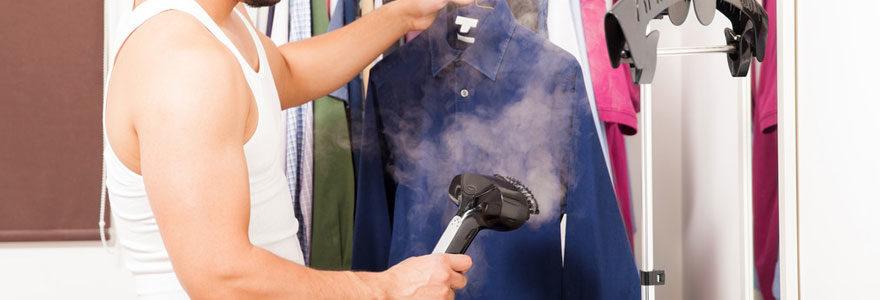 Défroisseurs à vapeur pour usage domestique