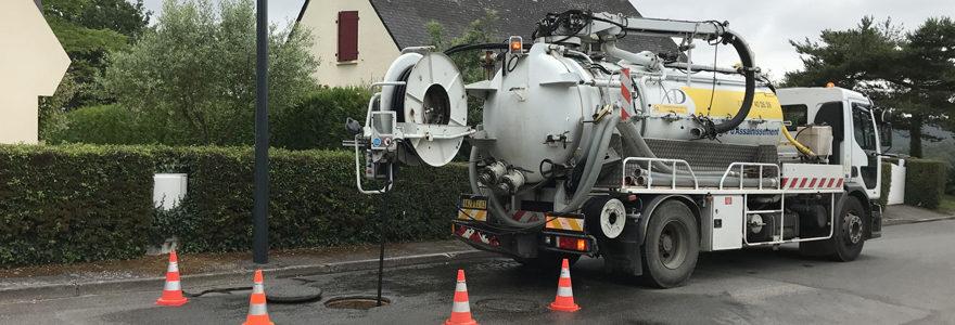 hydrocurage de canalisations