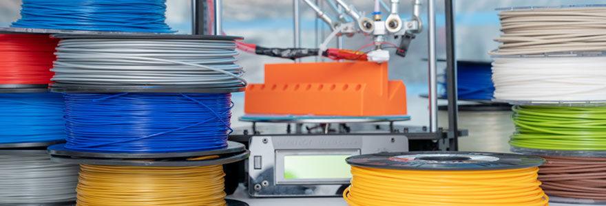 Filaments spéciaux pour imprimantes 3D