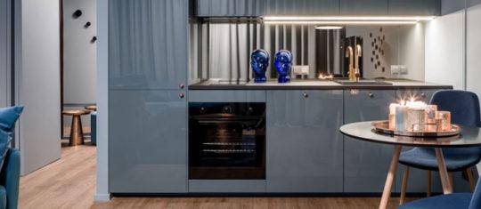 Dénicher une mini cuisine compacte et design