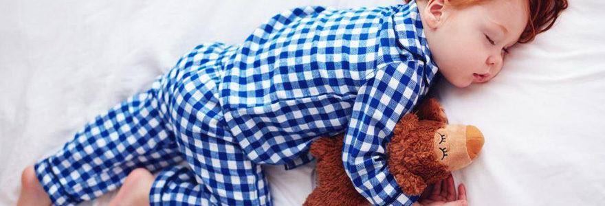 pyjama adopter pour mon bébé