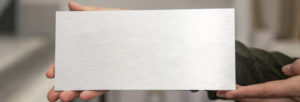 plaques aluminium
