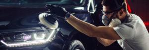 Detailing automobile
