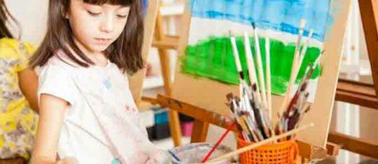 initier vos enfants à l'art